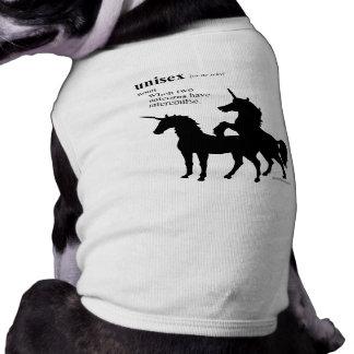 UNISEX DOG T SHIRT