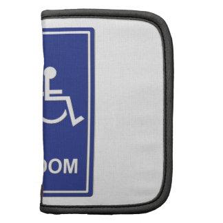 Unisex Handicap Restroom without Text Planners
