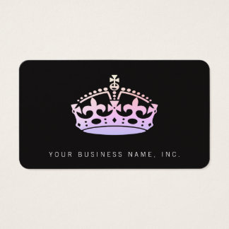 Unisex Palace Salon Jubilee Crown Ipanema Business Card