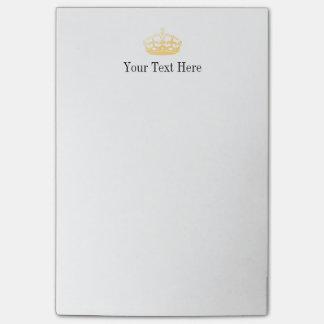 Unisex Palace Salon Jubilee Crown Post-it® Notes