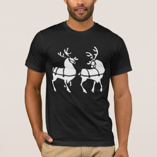 Unisex Reindeer Shirt Festive Christmas Shirt