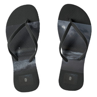 unisex sandals with storm and laguz rune flip flops