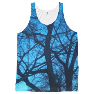 Unisex Tank Top with Tree Photography