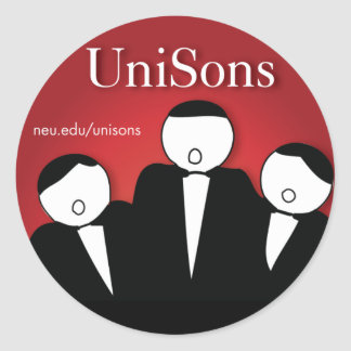 UniSons A Cappella Sticker