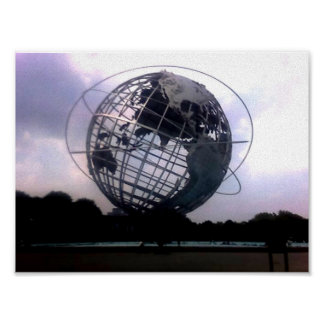 Unisphere -  Flushing Meadow Park- New York, NY Posters