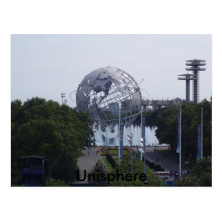 Unisphere, la feria de mundo 1964-65 postal