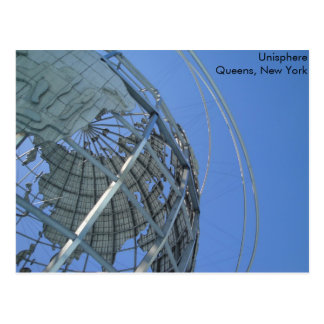 Unisphere Postcard