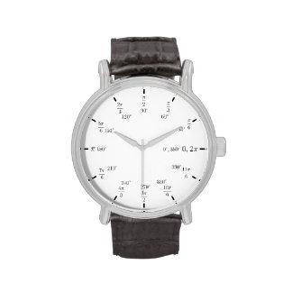 Unit circle watch