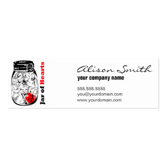 Unit of capacitance of Hearts Mini Business Card