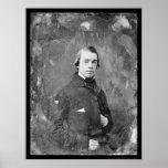 Unitarian Pastor Thomas King Daguerreotype 1854 Print
