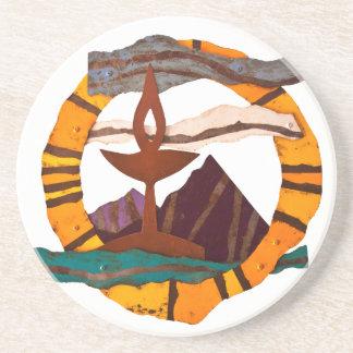 Unitarian Universalist Chalice coasters
