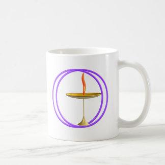 unitarian universalist chalice coffee mug