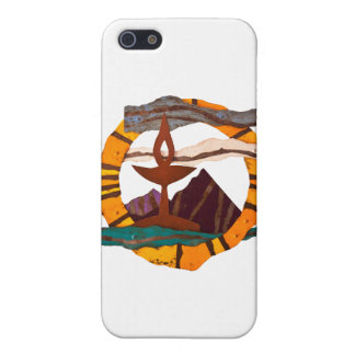 Unitarian Universalist Chalice items iPhone SE/5/5s Cover