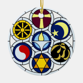 Unitarian Universalist Christmas Ornament