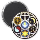 Unitarian Universalist Church Rockford, IL 2 Inch Round Magnet