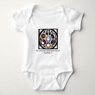 Unitarian Universalist Church Rockford, IL Baby Bodysuit