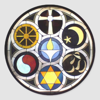 Unitarian Universalist Church Rockford, IL Classic Round Sticker