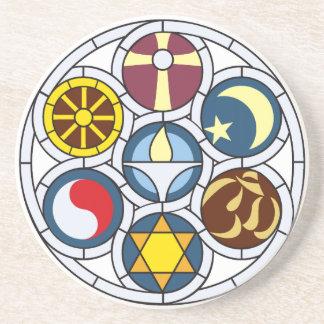 Unitarian Universalist Merchandise Beverage Coasters