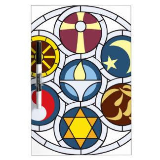 Unitarian Universalist Merchandise Dry Erase Whiteboards