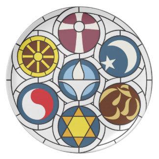 Unitarian Universalist Merchandise Party Plate