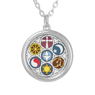 Unitarian Universalist Merchandise Silver Plated Necklace