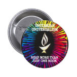 Unitarians Read More Than Just One Book Pinback Button