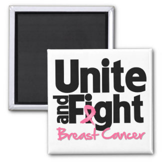 Unite and Fight Breast Cancer Magnet