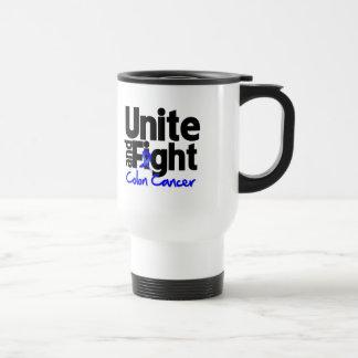Unite and Fight Colon Cancer Coffee Mug
