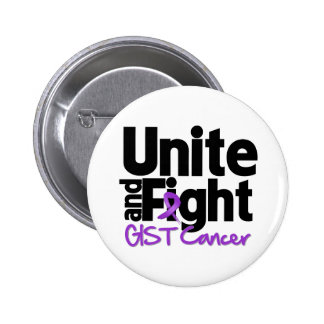 Unite and Fight GIST Cancer Pinback Button