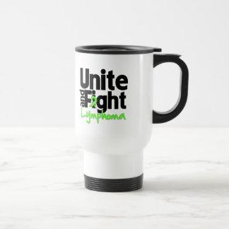 Unite and Fight Lymphoma Coffee Mugs
