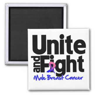 Unite and Fight Male Breast Cancer Magnet