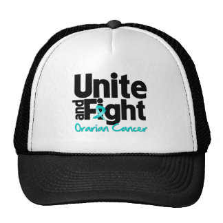 Unite and Fight Ovarian Cancer Trucker Hat