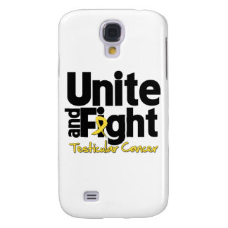 Unite and Fight Testicular Cancer Galaxy S4 Cover