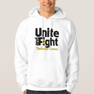 Unite and Fight Testicular Cancer Hooded Sweatshirt