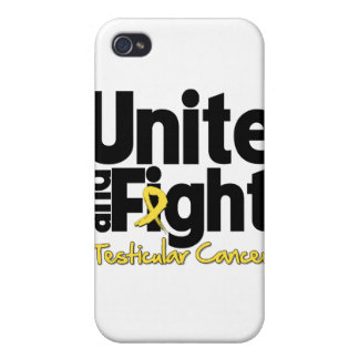 Unite and Fight Testicular Cancer iPhone 4/4S Cover