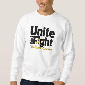 Unite and Fight Testicular Cancer Pull Over Sweatshirt