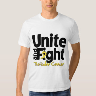 Unite and Fight Testicular Cancer Shirt