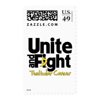 Unite and Fight Testicular Cancer Stamps