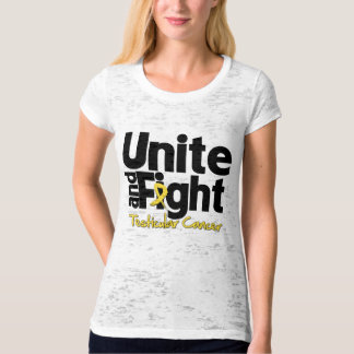 Unite and Fight Testicular Cancer T-shirt