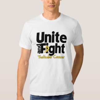 Unite and Fight Testicular Cancer T Shirts