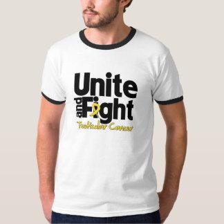 Unite and Fight Testicular Cancer Tshirt