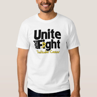 Unite and Fight Testicular Cancer Tshirts