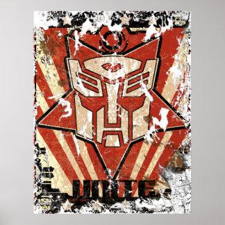 Unite - Autobot Symbol Poster