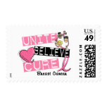 UNITE BELIEVE CURE Breast Cancer Stamp