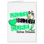 UNITE BELIEVE CURE Celiac Disease Cards