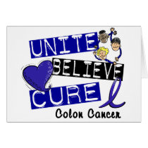 UNITE BELIEVE CURE Colon Cancer
