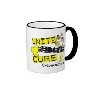 UNITE BELIEVE CURE Endometriosis Coffee Mug