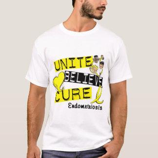 UNITE BELIEVE CURE Endometriosis T-Shirt