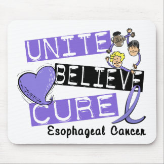 UNITE BELIEVE CURE Esophageal Cancer Mouse Pad