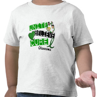 UNITE BELIEVE CURE Glaucoma T-shirt
